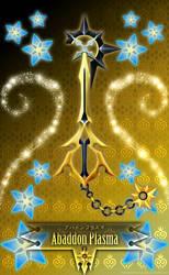 Keyblade Abaddon Plasma