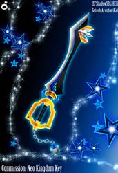 C. Keyblade Neo Kingdom Key by Marduk-Kurios