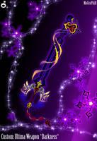 C. Keyblade Dark Ultima Weapon by Marduk-Kurios
