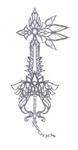 Concept Keyblade FINAL FANTASY