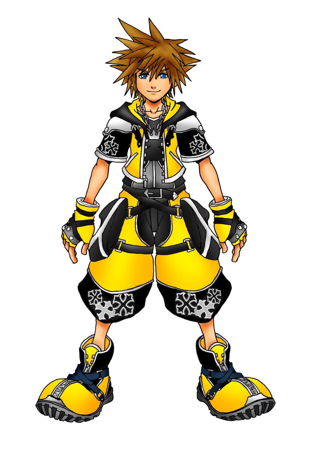 Kingdom Hearts 2 Master Form by Marduk-Kurios on DeviantArt