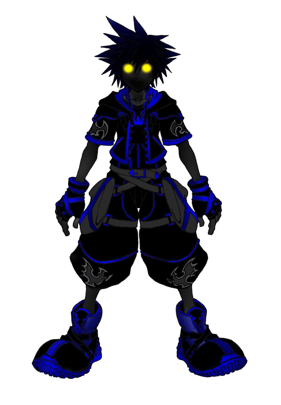 Kingdom Hearts 2 Anti Form by Marduk-Kurios on DeviantArt
