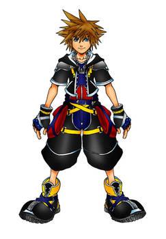 Kingdom Hearts 2 Neutral Form