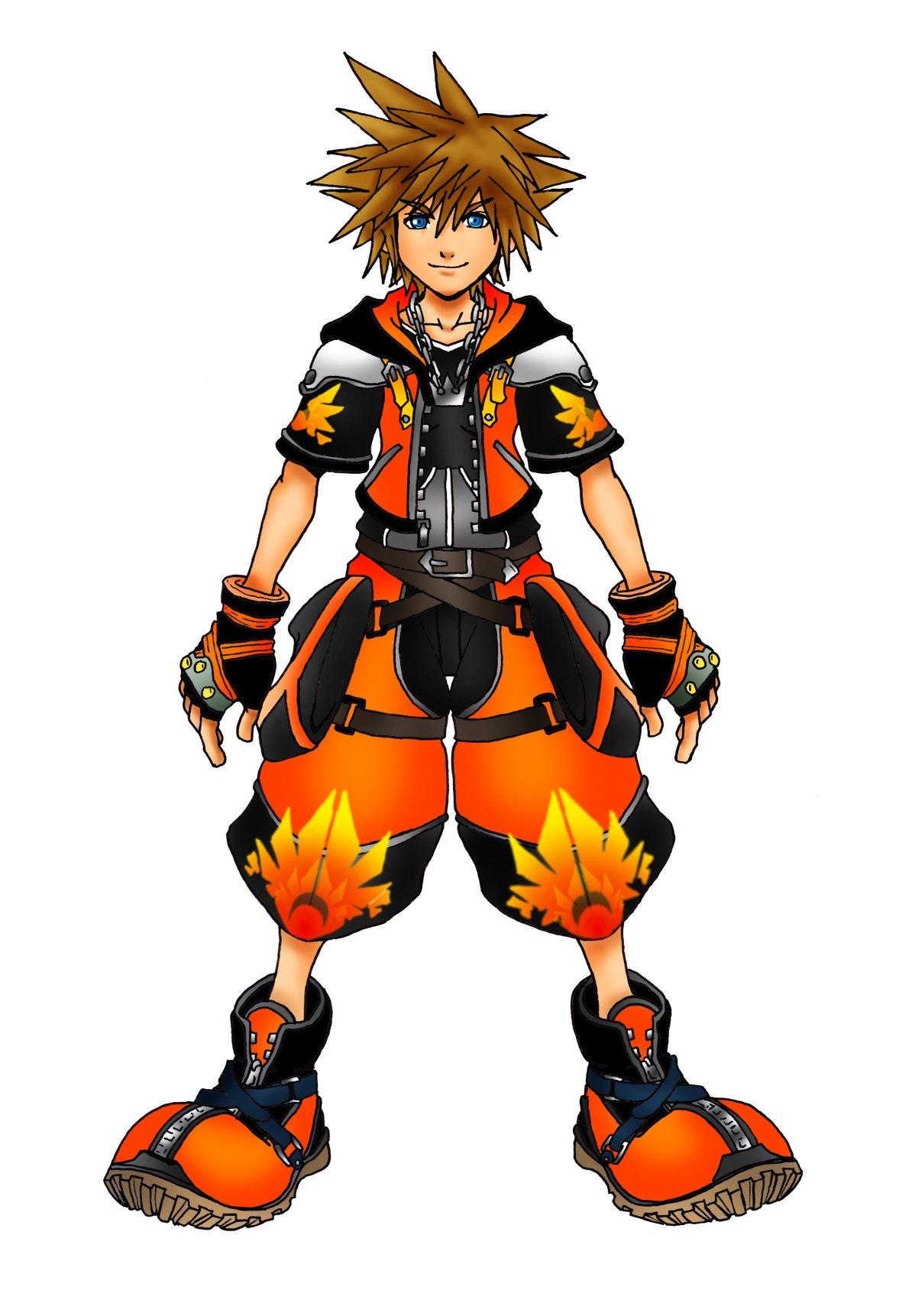 Kingdom Hearts Sora Limit Form Kingdom Hearts 2 Expert Form