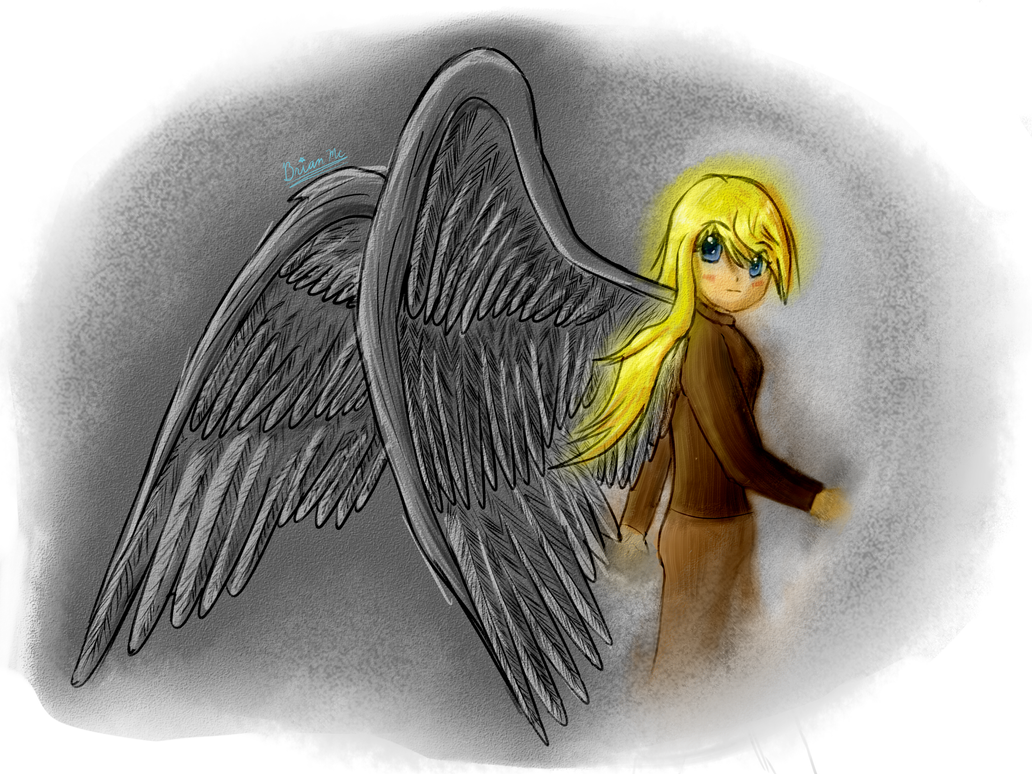 Anime Angel Wings Side View Images & Pictures - Becuo