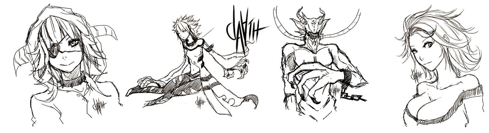 Sketches by da2th