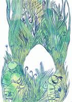Egg ( Illustration Friday) by Davanyta