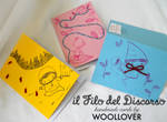 cards designed by me for WOOLLOVER,faity tales set