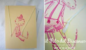 Handmade card-close up-pinocchio by Davanyta