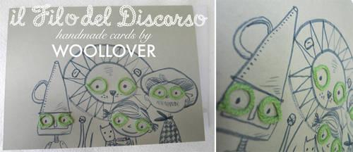 Handmade card-close up-the wonderful wizard of oz by Davanyta