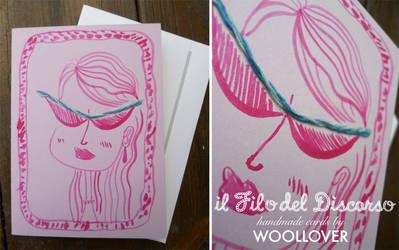 Handmade card-close up-diva by Davanyta