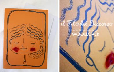 Handmade card-close up-shy by Davanyta