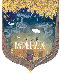 Poster for Imgine Dragons contest