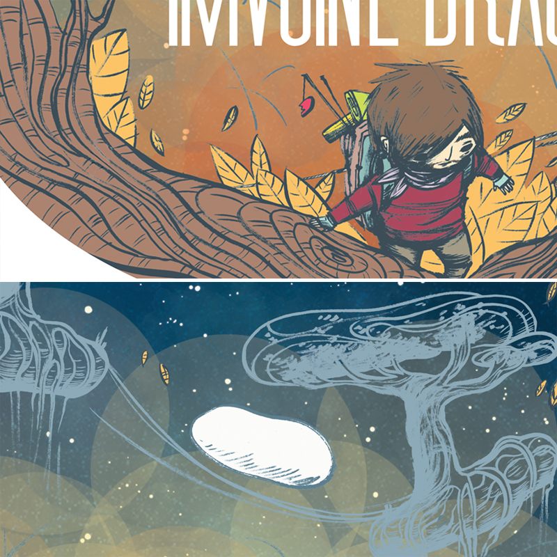 details-poster for Imagine Dragons contest by Davanyta