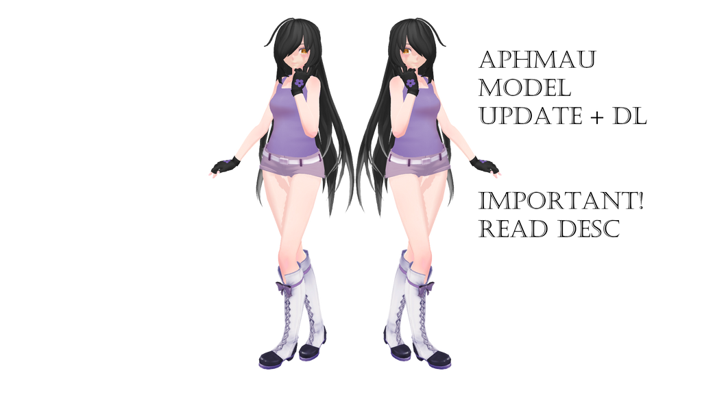 aphmau model mmd dl by kira kira sky on deviantart