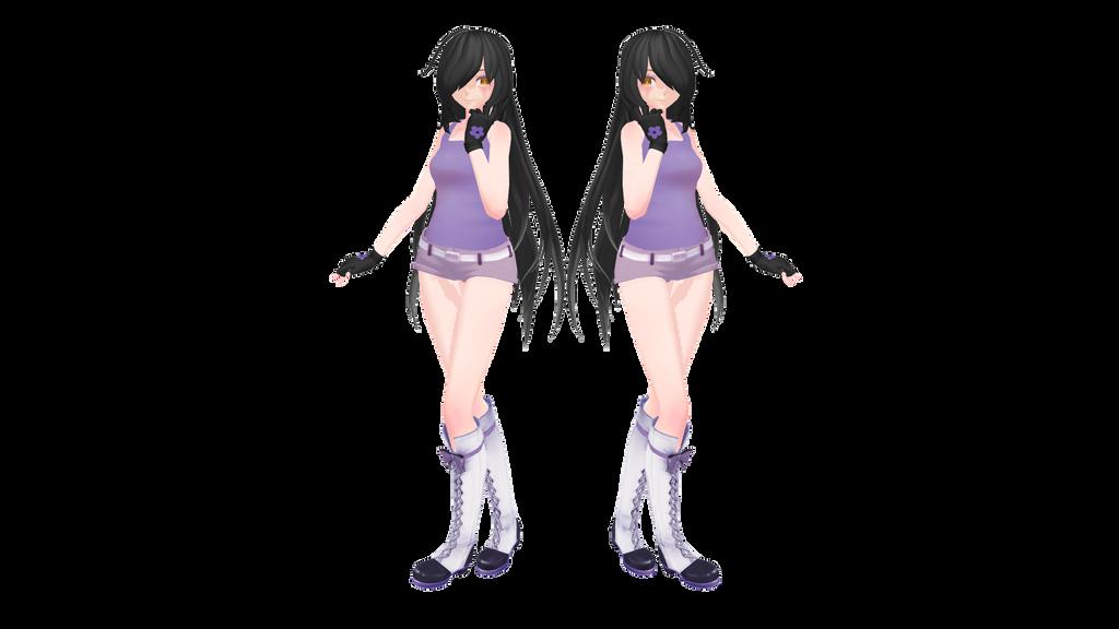 Aphmau Model-Updated [MMD DL] by Kira-Kira-Sky on DeviantArt