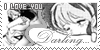I love you Darling ... - Stamp by Kaorulov