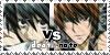 Vs Death note - Stamp by Kaorulov