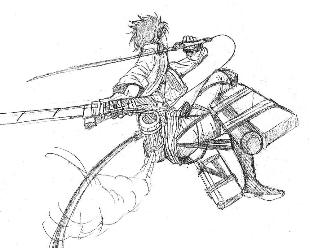 Attack on titan 4 by yemudan on deviantart for Attack on titan coloring pages