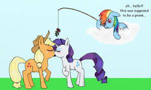 RariJack Mistletoe Prank by gambler83