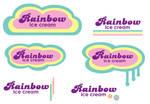 Rainbow Ice Cream Logo
