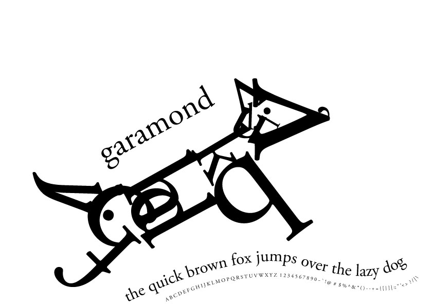 The Garamond Fox by StolenStars