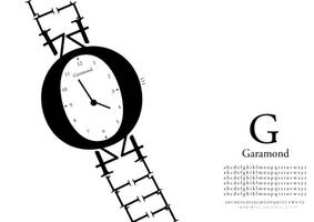 The Garamond Watch by StolenStars