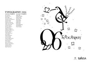 Typography 2006 by StolenStars