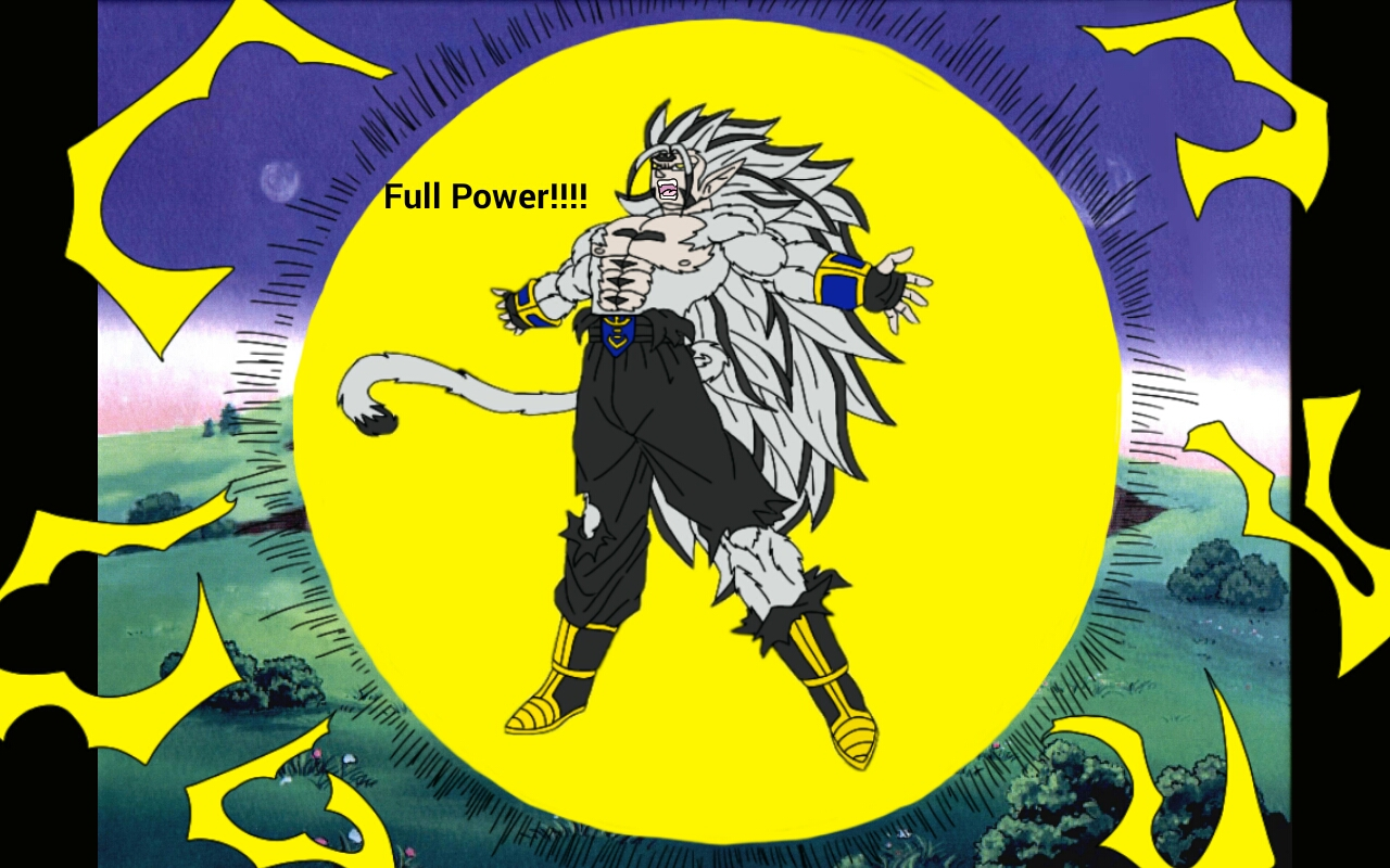 Ultimate Deity Super Saiyan Roken by GodAmongMan Full Power!!!-Ultimate  Deity Super Saiyan Roken by GodAmongMan