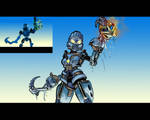 Bionicle: Toa Gali (MNOLG Scene Redraw)