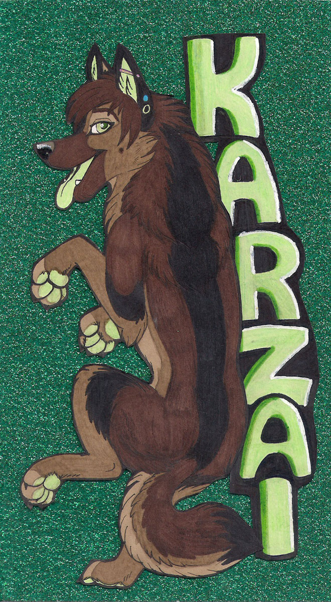 Karzai badge by Starwuff