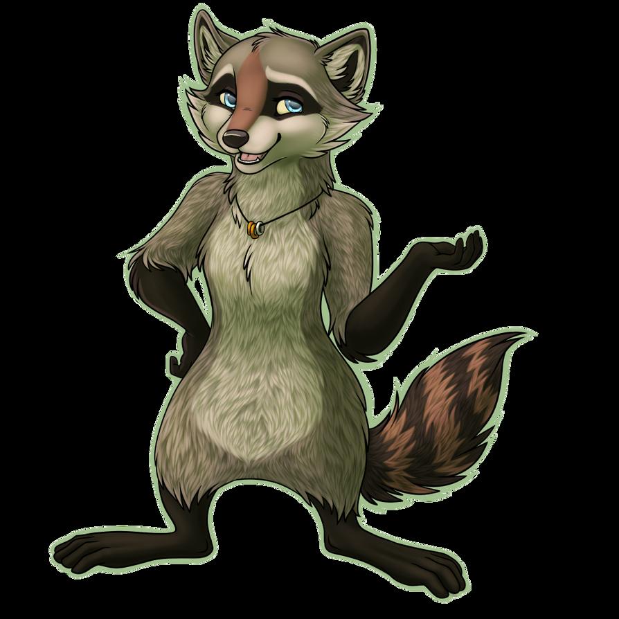 My feyvorite raccoon by Starwuff