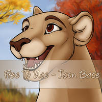 Autumn Icon base - Lion and Lioness
