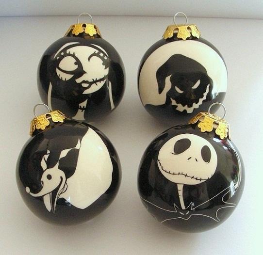 Jack Skellington Christmas Ornament: Nightmare Before Christmas Baubles By OriginalBunny On