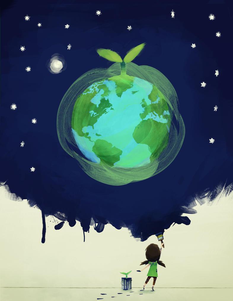 Green Dreams by hiogen