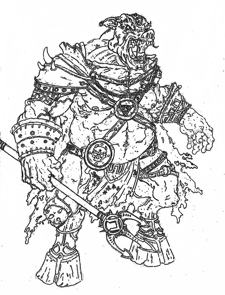 ganondorf coloring pages - photo#14