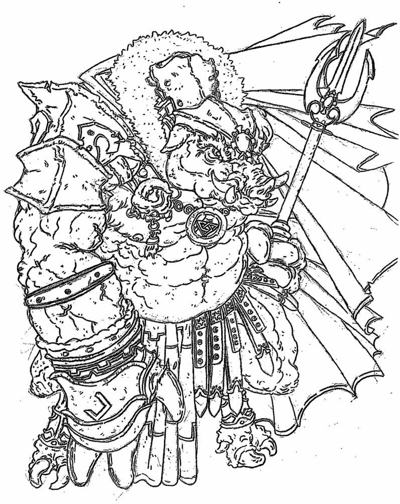 ganondorf coloring pages - photo#47