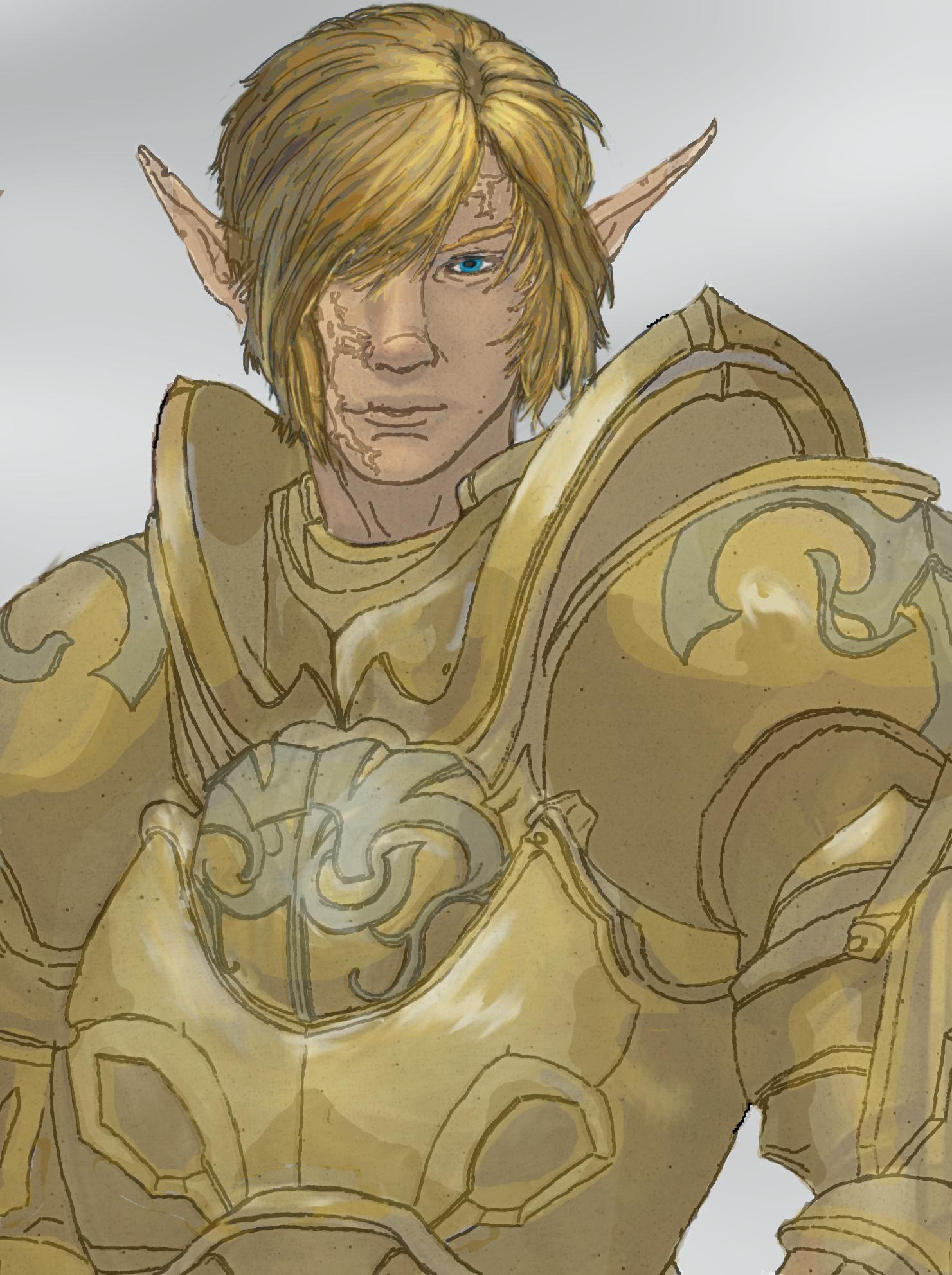 The Legend of Zelda-The Golden Wolf by womack90 on DeviantArt
