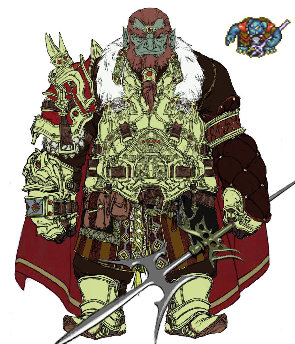 Ganondorf A Link To The Past By Womack90 On Deviantart