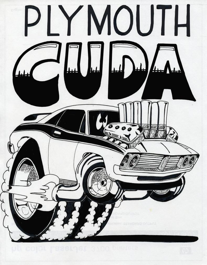 Plymouth Cuda by Artforme63