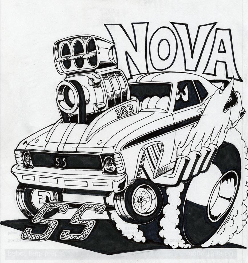 Chevy Nova by Artforme63