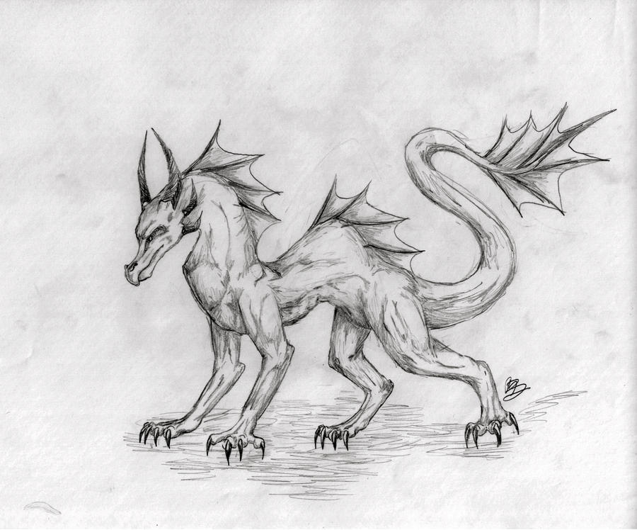 Dragon-Realistic by kitkeys on DeviantArt Drawings Of Dragons Realistic