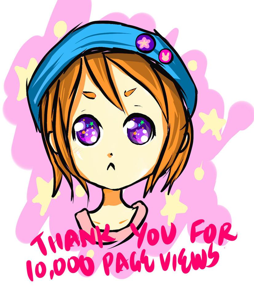 Thank you TT^TT by JaZzCaSt
