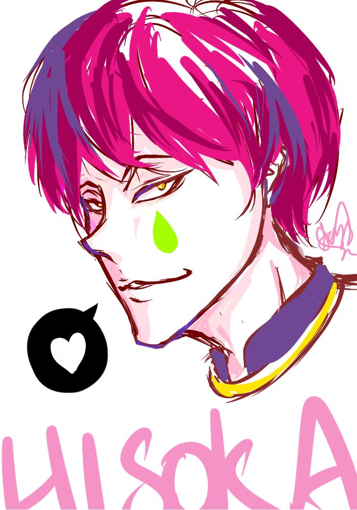 Hisokaaaa quick sketch by JaZzCaSt