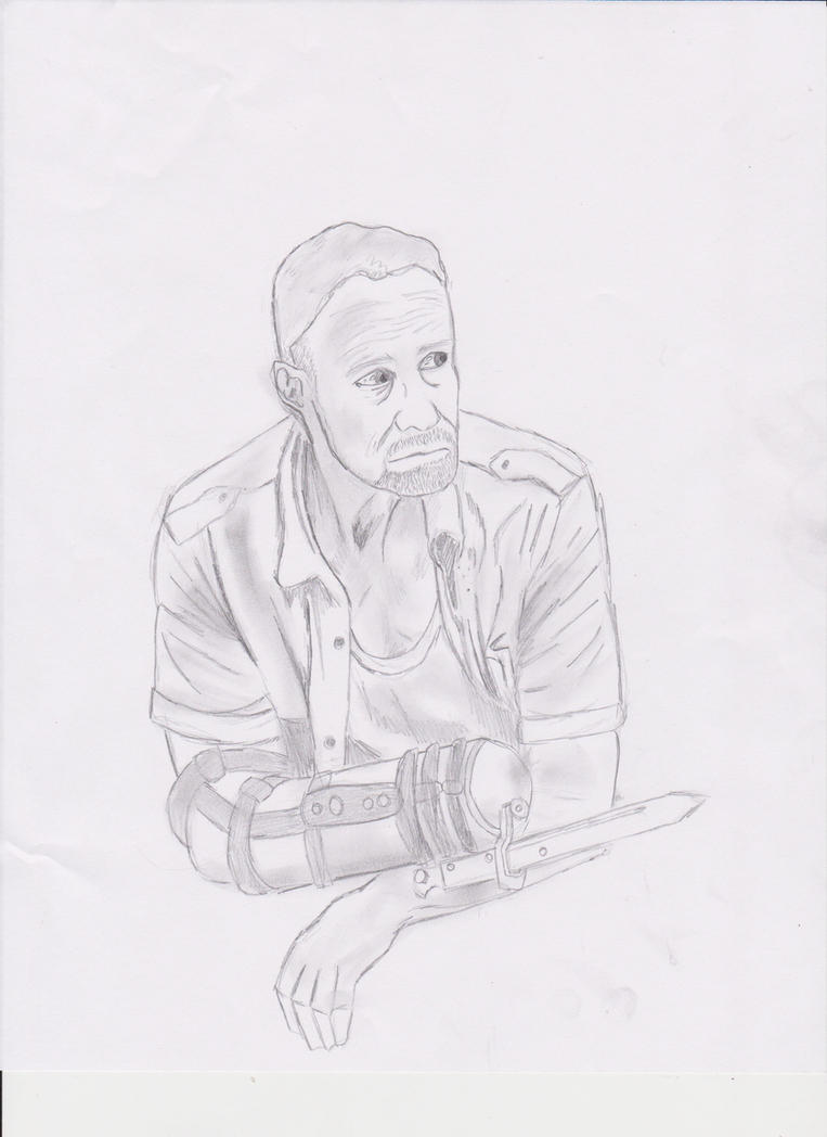 The Walking Dead :Merle Dixon by Bragalia