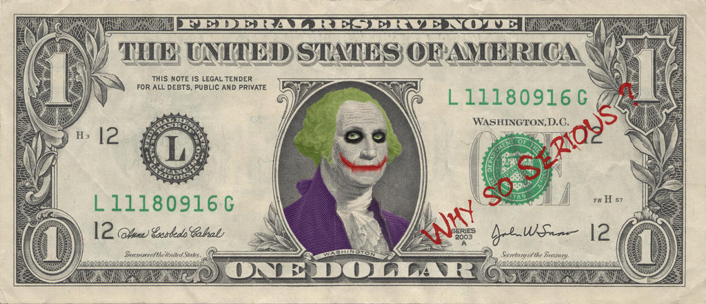 One dollar Joker by Sim0503