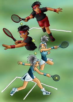 AOH Summer Sports Day Tennis Match