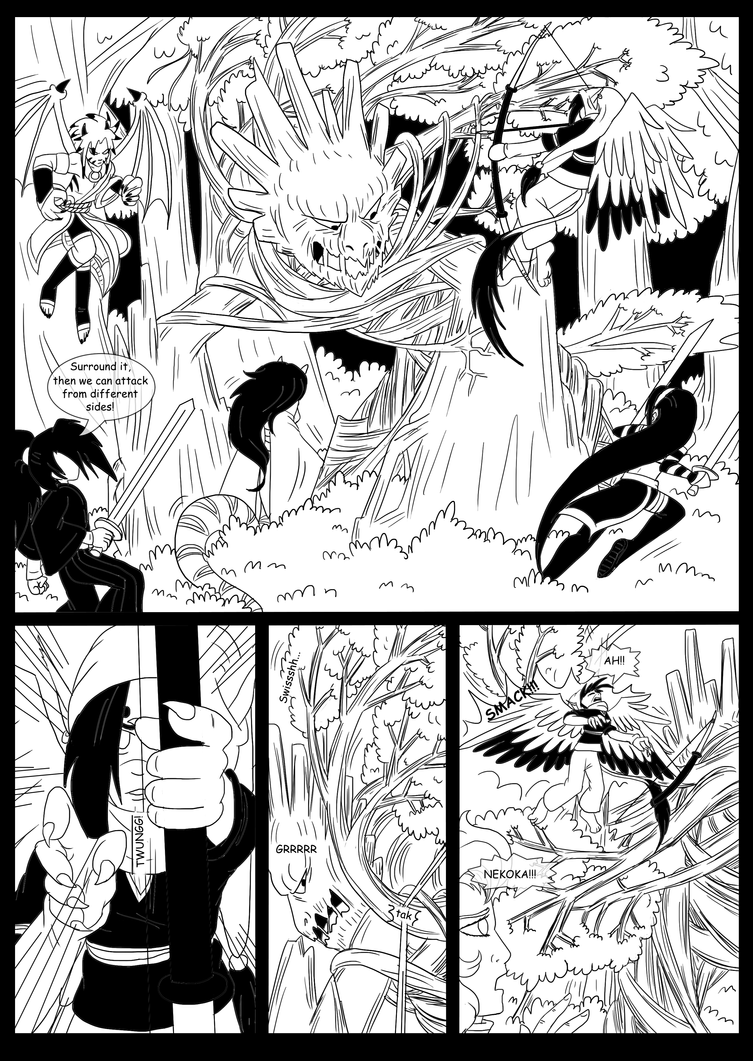 searching for power fight to the end pag 32 by rumain on deviantart