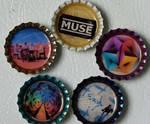 muse bottlecap magnets