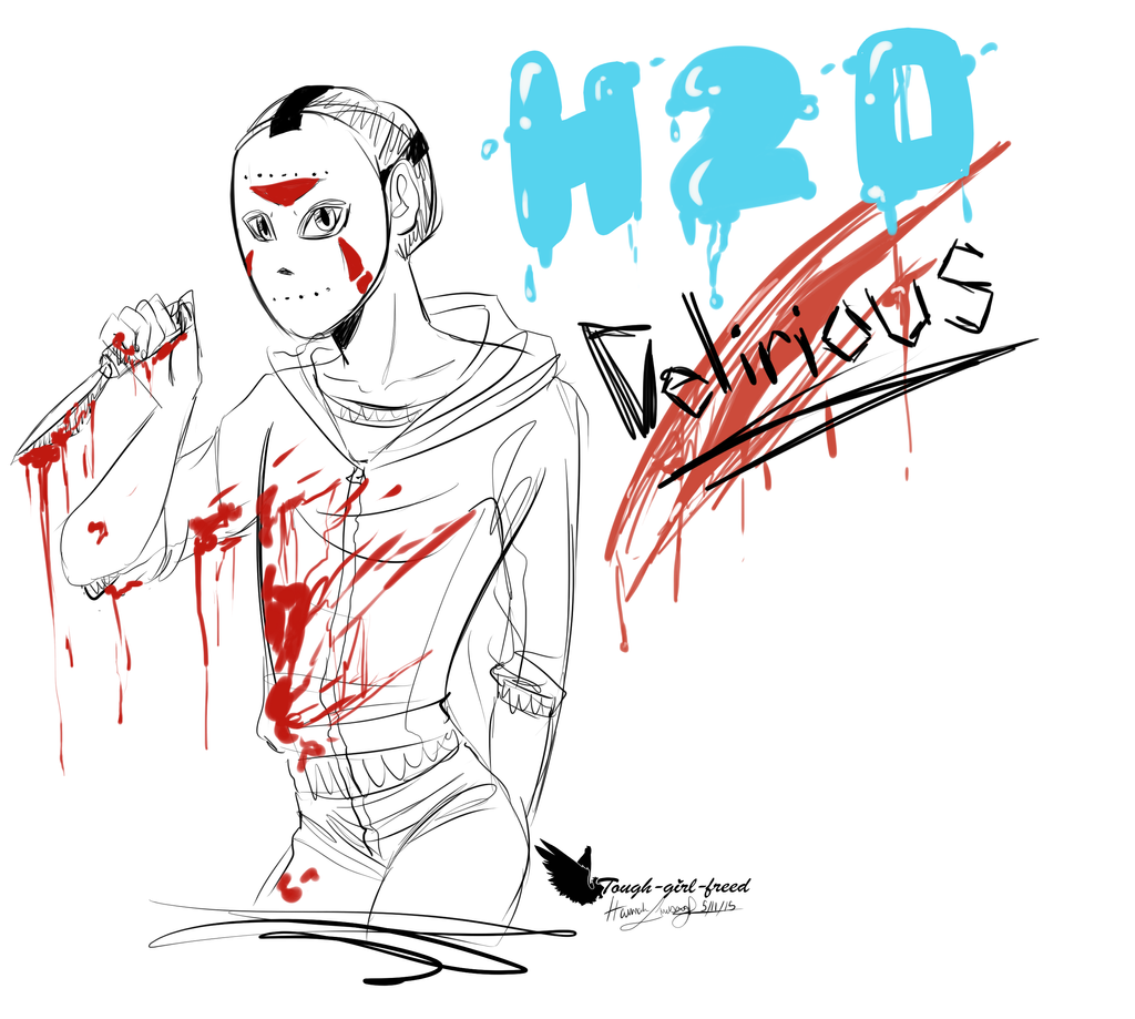 H20 Delirious Doodle by Tough-girl-freed on DeviantArt H20 Delirious Drawings